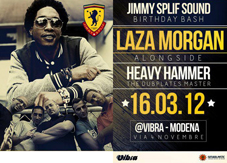 HEAVY HAMMER SOUND  (ita)  + LAZA MORGAN (jam)