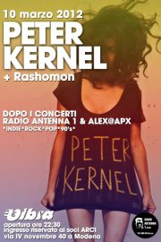 Peter Kernel (Can/Ch) + Rashomon (ita)  live set