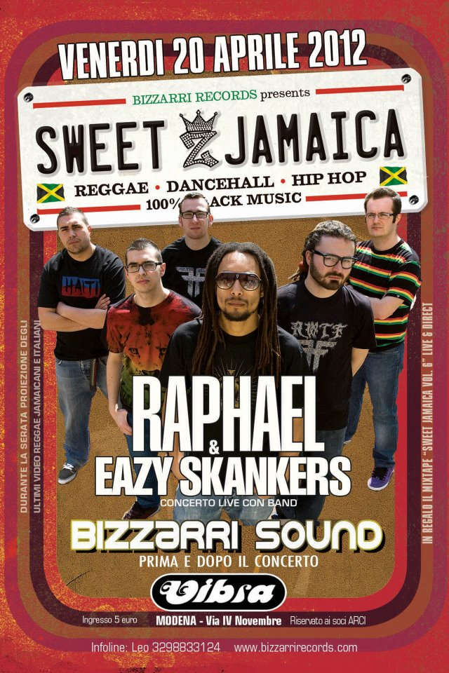 Sweet Jamaica   Raphael &amp; Eazy Skankers