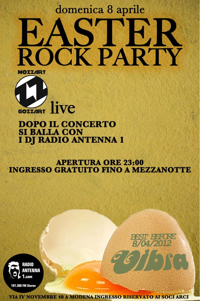 EASTER ROCK PARTY &#8211; RadioAntennaUno