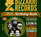 Sabato 19 – Bizzarri Record – Birthday Bash  RAINA GINKO GMAC LIOND RAS TEWELDE backed by Livity Band
