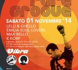 Sab 01 Novembre –  Funky Rare Groove   djs Lelli  Emilia Soul Lovers  Max Bello  KKorp
