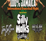 ven 30 ottobre – 100% Jamaica international dancehall party  special guest SILLY WALKS DISCOTHEQUE