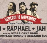 SUGAR CANE EXPERIENCE  live  Lion D, Raphael, Jah Sun + Sugar Cane Band + Outlaw sound & Bizzarri sound