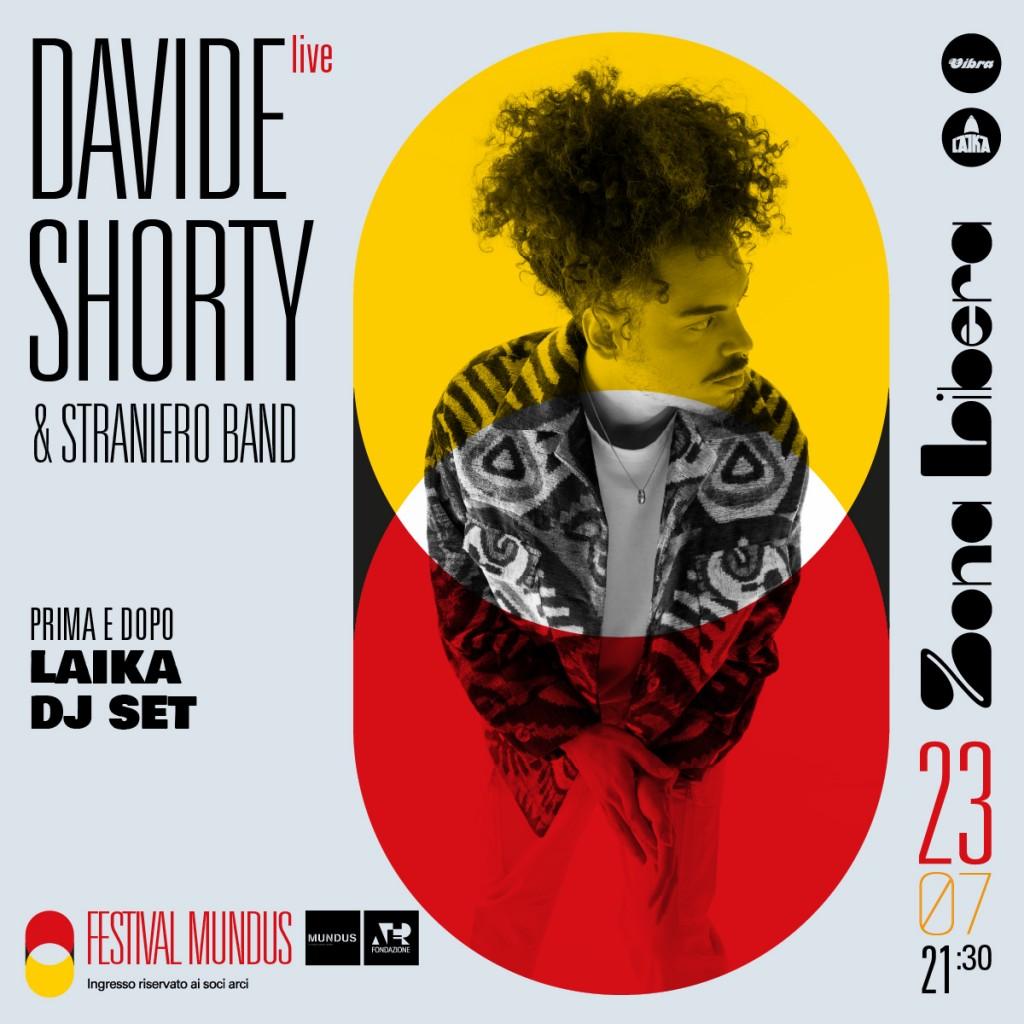 Venerdi 23 Luglio Davide Shorty & Straniero band